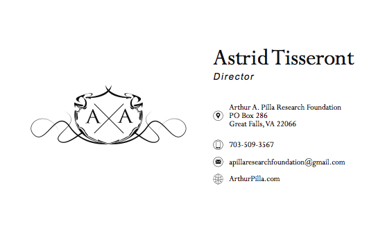 Business Card Astrid